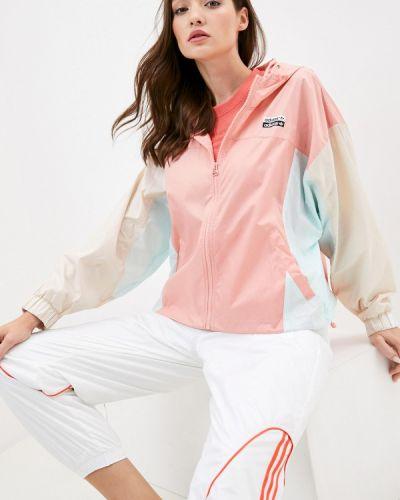 Розовая ветровка Adidas Originals