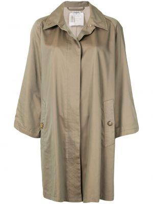 Długi płaszcz klasyczny z kołnierzem Chanel Pre-owned
