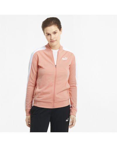 Спортивный костюм в рубчик - розовый Puma