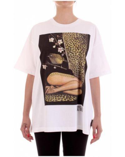 T-shirt krótki rękaw z printem Versace Jeans Couture