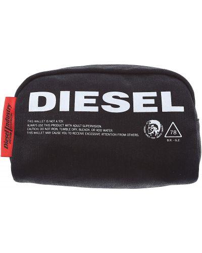 Biała kosmetyczka bawełniana Diesel