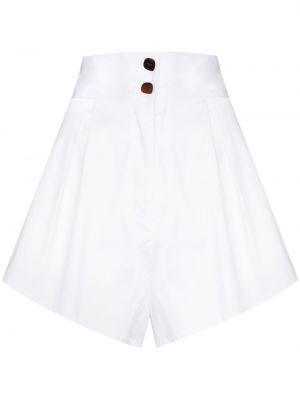 Шорты с карманами - белые Adriana Degreas