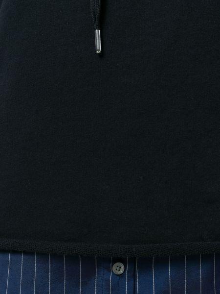 Хлопковая черная юбка с поясом T By Alexander Wang