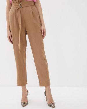Классические брюки бежевый весенний Love Republic