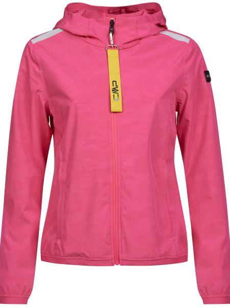 Розовая куртка на молнии с подкладкой Cmp