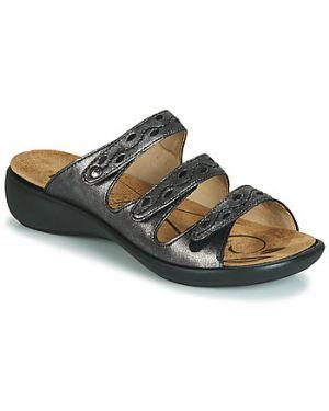 Sandały srebrne Romika