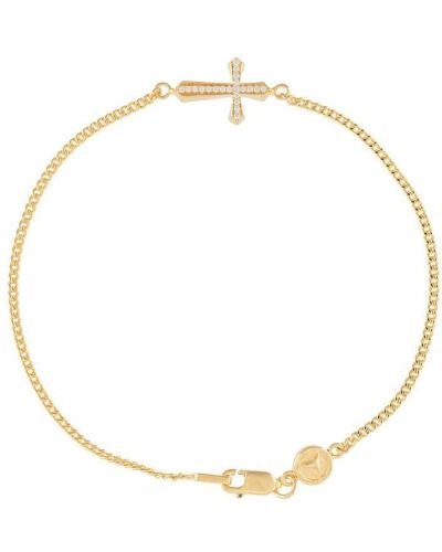 Krzyż złoto Northskull