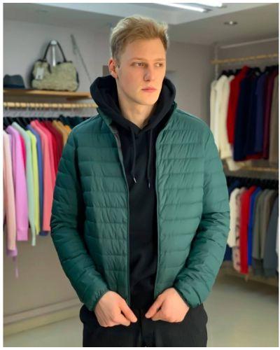 Пуховая куртка - бирюзовая Uniqlo