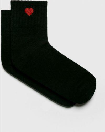 Носки однотонные - черные Fulloff
