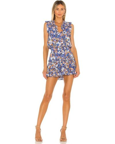 Хлопковое платье - синее Misa Los Angeles