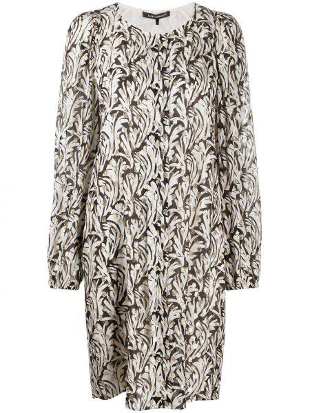 Платье миди - белое Luisa Cerano