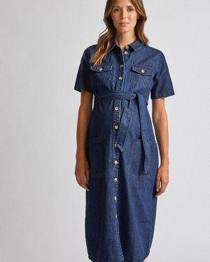 Платье для беременных джинсовое осеннее Dorothy Perkins Maternity