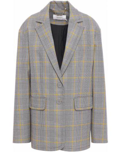 Серый пиджак с карманами на пуговицах Zimmermann