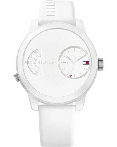 Biały zegarek Tommy Hilfiger
