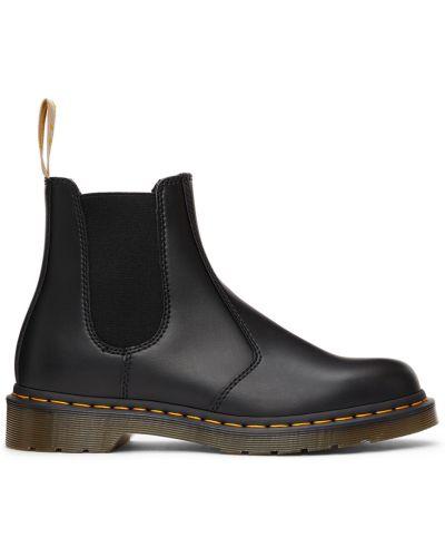 Кожаные ботинки челси - черные Dr. Martens