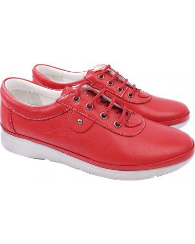 Кожаные туфли - красные Trio Trend