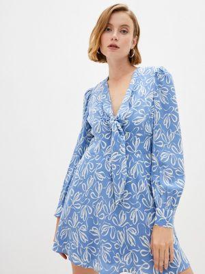 Голубое платье летнее Ted Baker London