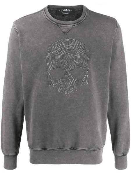 Bluza z długimi rękawami bawełniana Hydrogen
