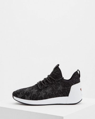 Черные кроссовки низкие Ash