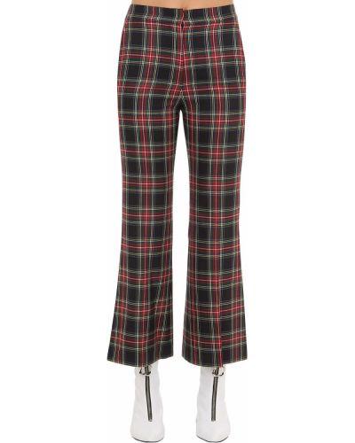 Spodnie rozkloszowane Pushbutton