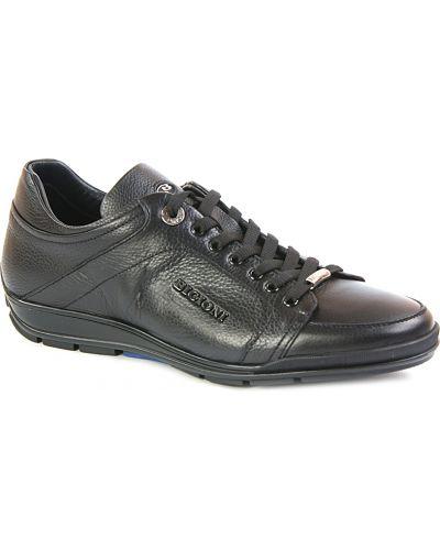Черные кроссовки на каблуке Dino Bigioni