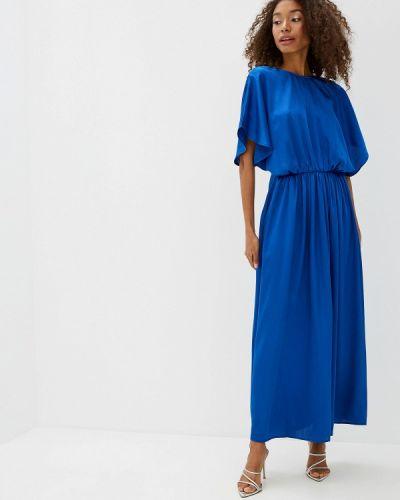 Платье прямое синее Ichi