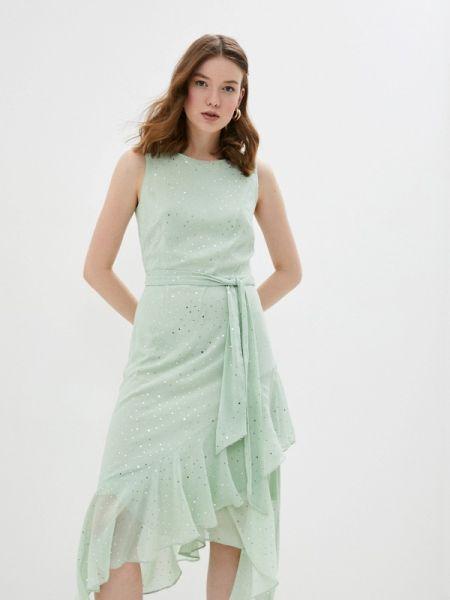 Повседневное платье бирюзовый весеннее Wallis