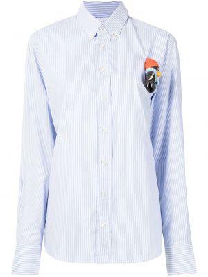 Рубашка в полоску - синяя Mira Mikati