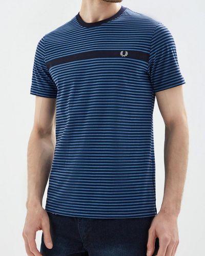 Синяя футболка Fred Perry