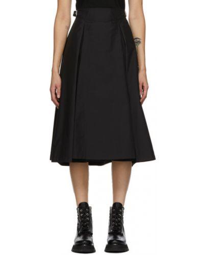 Черное платье-рубашка из поплина с воротником с карманами 3.1 Phillip Lim