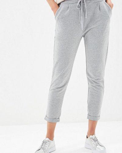 Спортивные брюки серые весенний Fascinate
