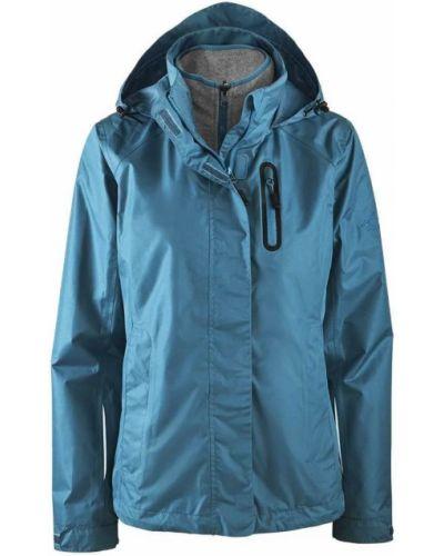 Флисовая куртка - голубая Crivit