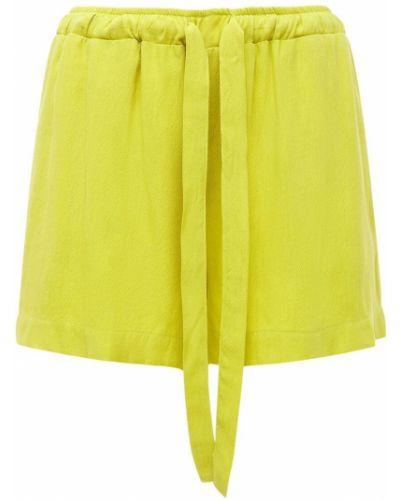 Żółte szorty Underprotection