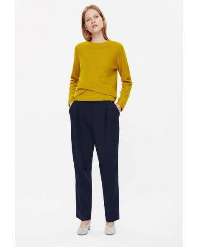 Шерстяной свитер - желтый Cos