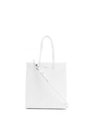 Biała torebka skórzana Medea
