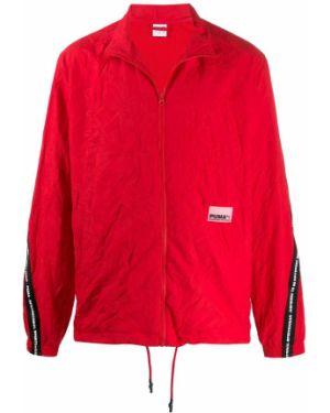 Длинная куртка на резинке с логотипом Puma