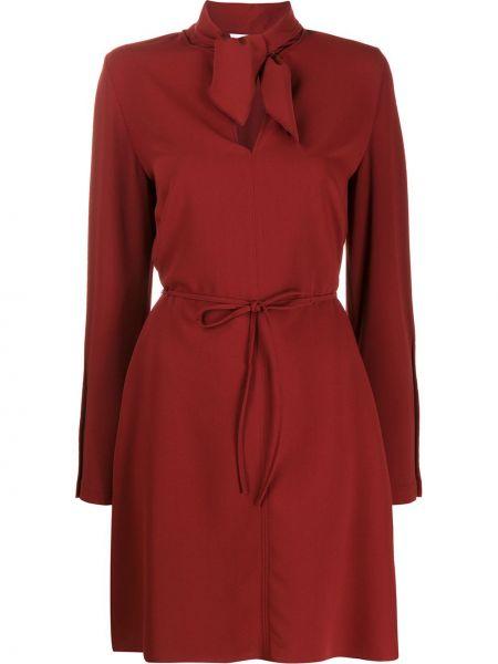 Платье красный расклешенное See By Chloe