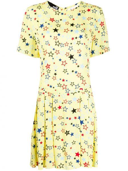 Платье мини с поясом Love Moschino