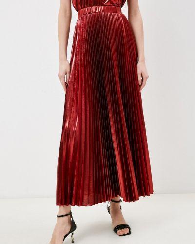 Красная плиссированная юбка Max&co