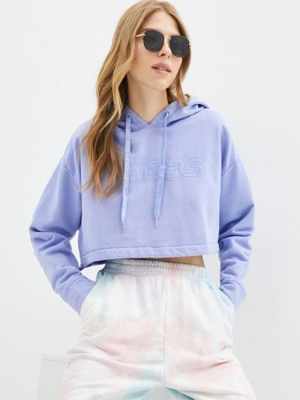 Фиолетовое худи Guess Jeans