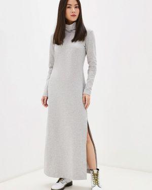 Платье серое платье-толстовка Danmaralex