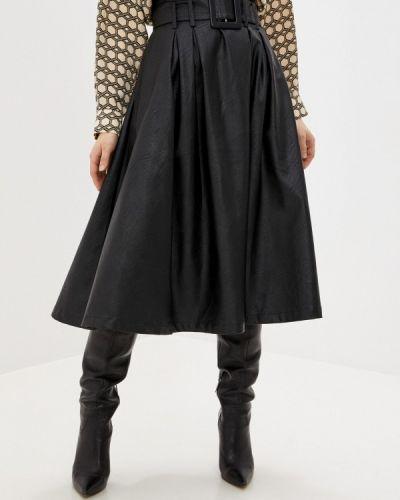 Черная кожаная юбка You&you