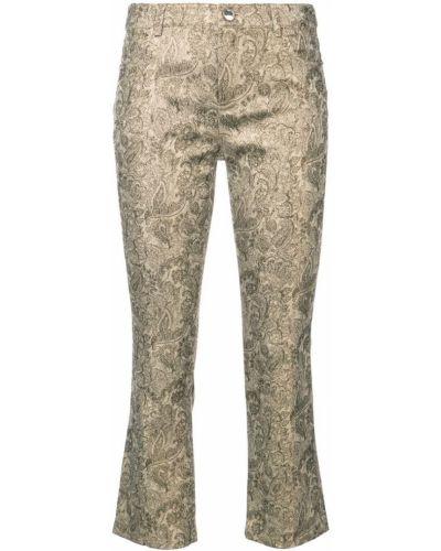 укороченные расклешенные брюки 'Drew' Alice+olivia