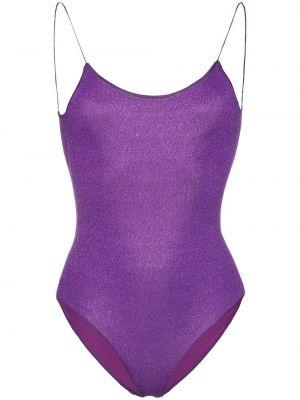Плюшевый фиолетовый слитный купальник Oseree