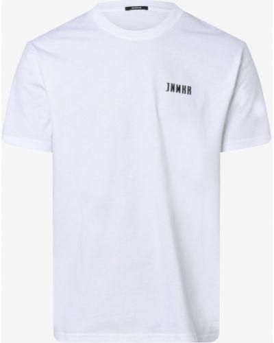 Biała t-shirt Denham