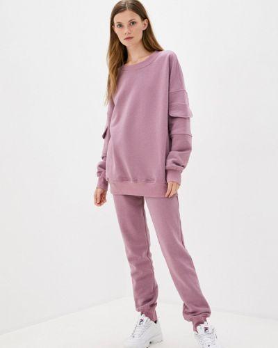 Костюмный фиолетовый спортивный костюм Sitlly