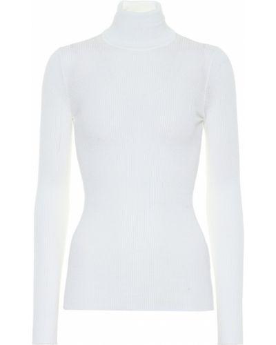 Белый шерстяной свитер Tod's