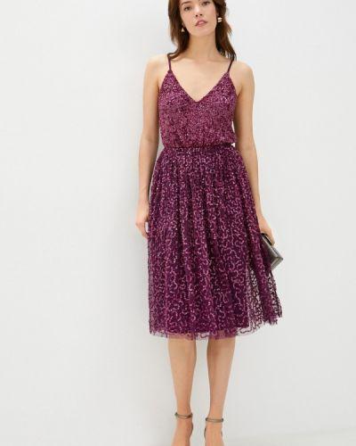 Вечернее фиолетовое вечернее платье Little Mistress
