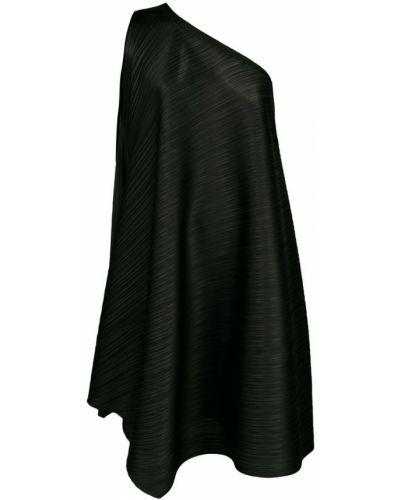 Платье на одно плечо плиссированное Pleats Please By Issey Miyake
