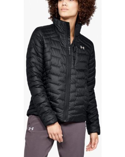Утепленная куртка демисезонная черная Under Armour